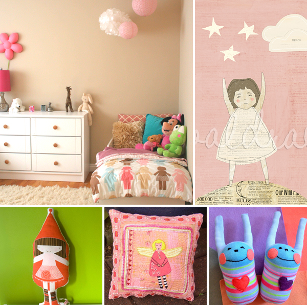 home interior design 2015: wall decor girls bedroom